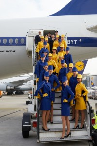 The staff makes the difference... Photographer: Oliver Roesler Copyright: Lufthansa Bildarchiv, FRA CI/P